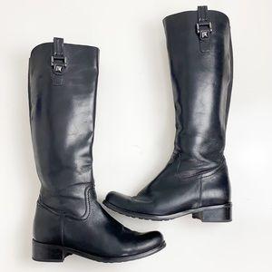 Blondo Waterproof Riding Boots Black